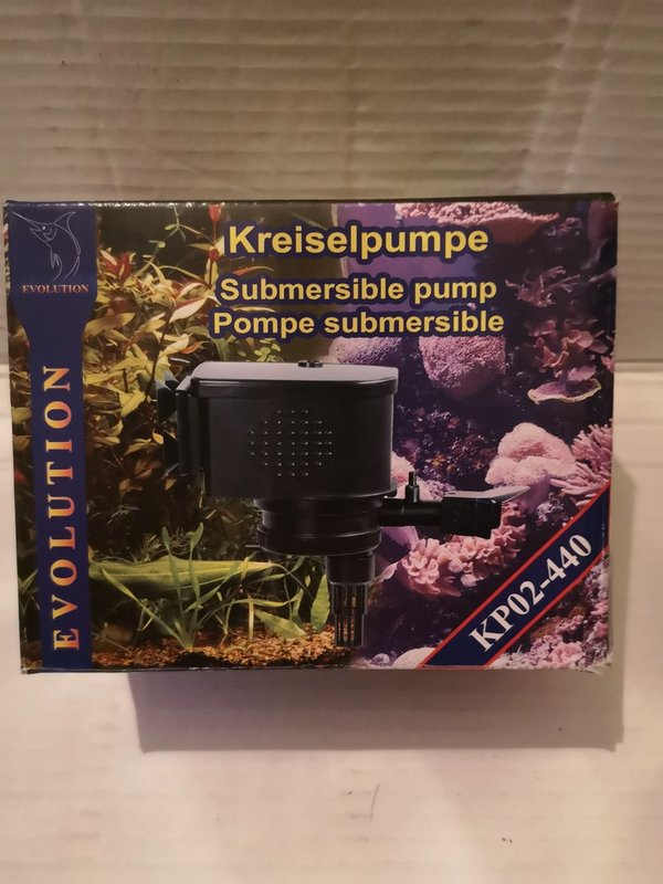 POMPE A EAU SUBMERSIBLE EVOLUTION KP02-440