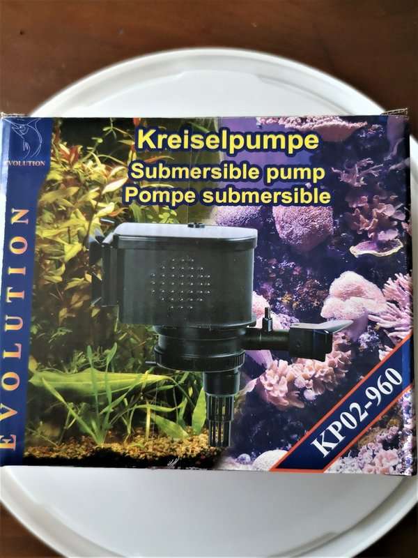 POMPE A EAU SUBMERSIBLE EVOLUTION KP02-960